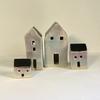 Small Stoneware Glazed Houses