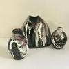 Small Textured Stoneware Pots