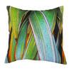 Green Phormium Cushion, digitally printed on cotton canvas, 45x45cm