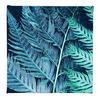 Blue Fern - Digital Print on Cotton Canvas