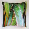 Green Phormium Cushion with feather pad, £50 each available from the artist