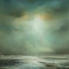 Low Tide. Oil on canvas. Framed