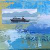 Cal Mac Ferry  at Colonsay