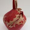 "Maria-Luisa Wilkings ""Red Vase Stoneware"