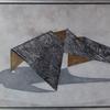 Lockdown - Framed textile art - Marian Hall