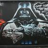 Graffiti Artwork I painted a large mural of Darth Vader