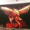 Graffiti Artwork I painted a large mural of a phoenix