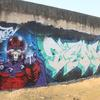 Graffiti Artwork I painted a large mural of Magneto from Marvel