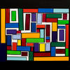 A jumble of Colour Blocks.