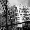 Modernisme, Barcelona ~ black and white photograph