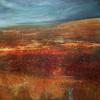 Moorland Meditation, 61 x 61 cm, Acrylic on canvas