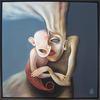 Motherhood   Acrylic on canvas 70x70cm