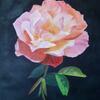 My Coral Beauty/  Acrylic on canvas