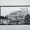 Old Barn. Linocut Print
