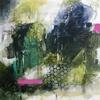 Organic Layers  _ Acrylic on wood panel _ 30 x 30cm Framed
