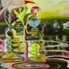 """""""Sprung rhythm"""" Acrylic on canvas 80x100cm"""