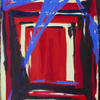From an abstract series of Entrances. Oil on canvas