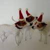 Festive Trio! - needlefelted commission
