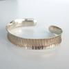 bangle 'stripes', 12mm width, other patterns and widths available