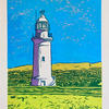 Paphos Lighthouse - Photoscreen Print