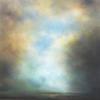 Passing Storm. Landscape Oil Painting.