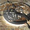 creative MINE wall sculpture for IBI Group London Office - looking up