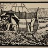 Pebble Beach, Linocut Print, (20x15cm)