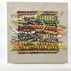 Autumn1 - paper, jute and wool on a linen warp