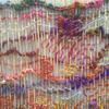 Dance 2 - free weaving in recycled sari yarn