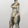 Phaedra (Standing) : Watercolour Pencil Drawing 21x30cm Unframed £75