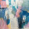 Positive Space _ Acrylic on wood panel _ 30 x 30cm
