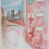 Rear Window featuring Grace Kelly as Lisa Carol Fremont - watercolour on canvas.