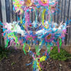 Recycled Project Chandelier (Made from recycled plastic bottles and cartons)