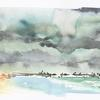 Watercolour - Reiss Beach - The NC500 Sketches