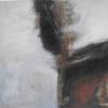 """A Rich Vein III"" mixed media 63 x 64 cms.  On wood framed £350"