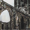 Heptonstall Old Church, Yorks, pastel on paper, 44ccm x 107cm, nfs