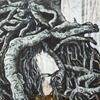 Roots, acrylic on canvas, 90cm x 90cm, £525.00