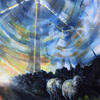 When The Wind Blows, acrylic on canvas, 51cm x 76cm, £495.00