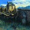 Shibden Hall (The Wait), acrylic on canvas, 76cm x 51cm, nfs