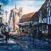 St Mary's View, acrylic on canvas, 51cm x 41cm (framed), £395.00
