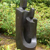 'Safekeeping' Bronze Resin Garden Sculpture by John Brown