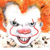 Pennywise  (Brusho) - Heroes and Villains, Fantasy and Fiction