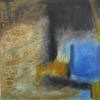 Salt Marsh Norfolk oil/cold wax medium.  On board framed £280