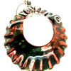 large enamel pendant with  chain