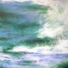 Sea Spray - 50x50cms - acrylic/framed