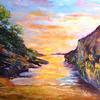 Seaside Sunset - Mary Ann Day