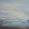"""""""Serenity"""" acrylic 64 x 64 cms.  On canvas framed. £275"""