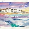 Watercolour - Seven Sisters