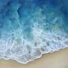 Shallow Shores. Oil Painting. Seascape
