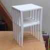 Side table, working model in foamboard